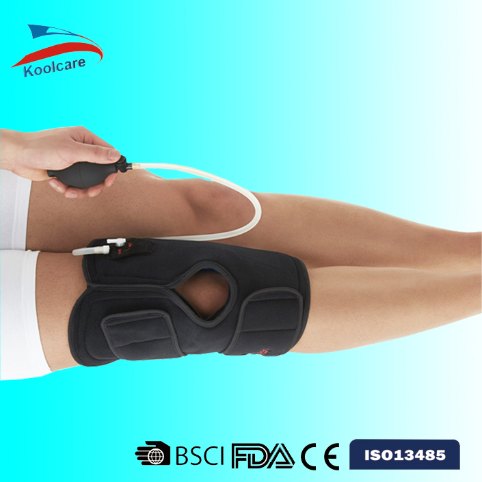 Pneumatic Cold Hot Compression Knee Wrap